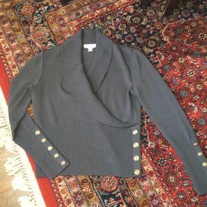 St. John Sport Charcoal Sweater